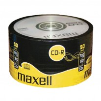 CD-R80 диск MAXELL, 700MB, 52x, целофан, 50 бр.