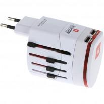 Универсален адаптер Skross World Evo/Classic, USB, 220V