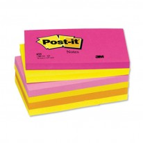 Самозалепващи листчета Post-it 655-TF, 127х76мм, 100л.
