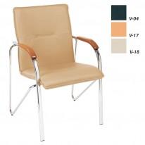 Посетителски стол Samba, еко кожа