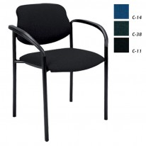 Посетителски стол Styl Arm с дамаска
