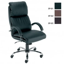 Директорски стол Nadir  5059 Steel естествена кожа