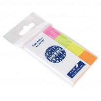 Индекси Global Notes, неон, 20 х 50 мм, 4 цвята х 50 л.