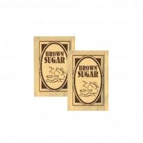 Захар, кафява, пакетче, 150 бр. х 4 гр.