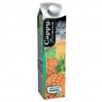 Натурален сок Cappy, Ананас, 100%, 1 л.