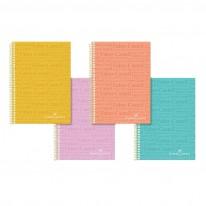 Тетрaдka Faber-Castell РР Щампи, А4, квадрати, широки редове, 100 листа