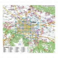 Карта-атлас на София, 1 : 13 000