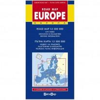 Пътна карта на Европа, 1 : 3 500 000