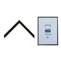 Алуминиева рамка, 21x 29.7 см, черна