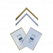 Алуминиева рамка, 21x 29.7 см, златна/сребърна