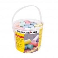 Тебешири Eberhard Faber, 6 цвята, 20 броя в кофа
