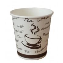 Картонена чаша за кафе, 210 мл, 100 бр./оп.