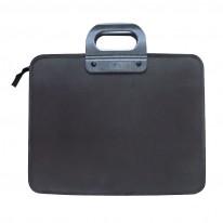 Чанта плътна с 2 прегради, еко кожа