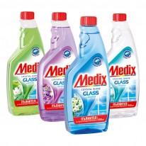 Пълнител за почистващ препарат за стъкло Medix, 0.500 л.