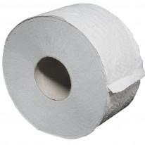 Тоалетна хартия Джъмбо, 3-пластова, натурална, рециклирана, 1 бр.