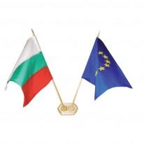 Знаме за бюро, ЕС, 16 х 25 см