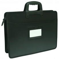 Чанта за документи PVC, с 2 дръжки и етикет